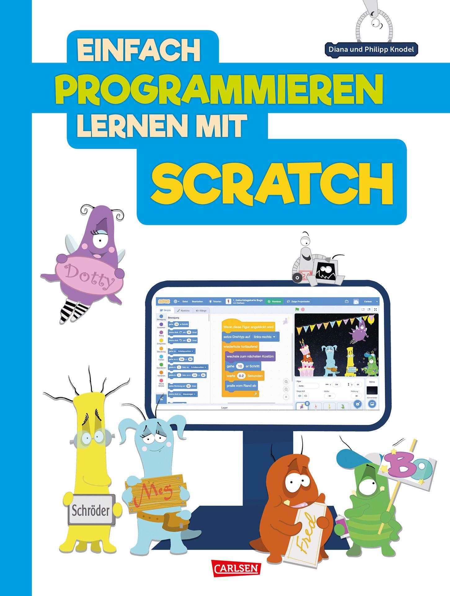 Cover_Einfach programmieren mit Scratch