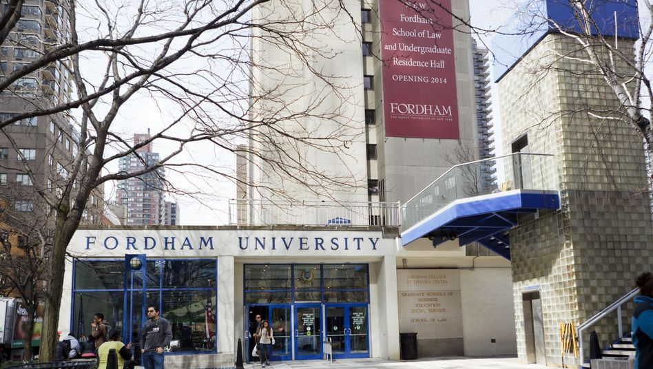 Campus der Fordham University in New York City