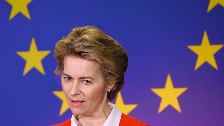 """EU-Kommissionschefin von der Leyen: """"In diesem Moment sind wir alle Italiener"""""""