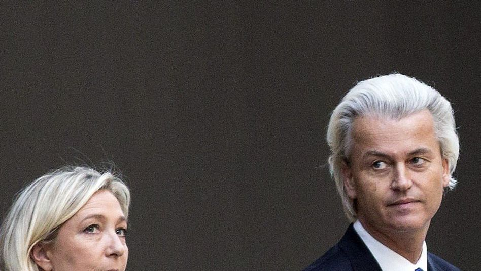 Rechtspopulisten Le Pen, Wilders: Vorerst gescheitert