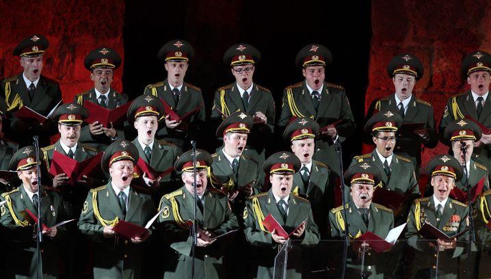 Alexandrow-Chor (12 Juli 2013)