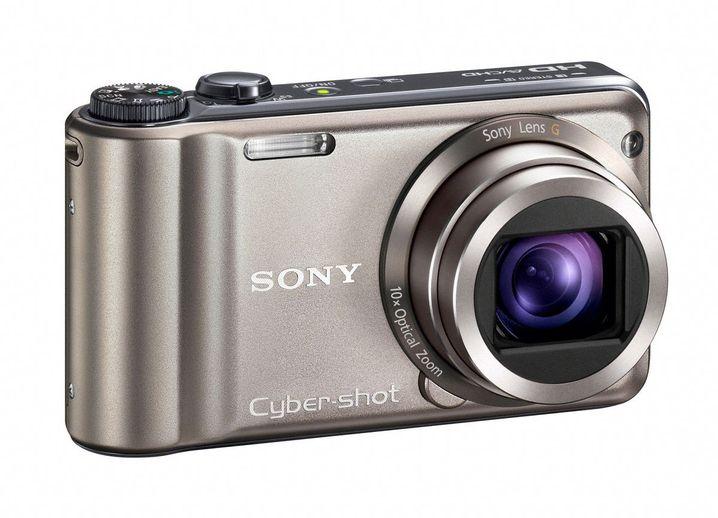 Sony HX5V: Die Kompaktkamera dreht HD-Videos mit 1080 Bildzeilen