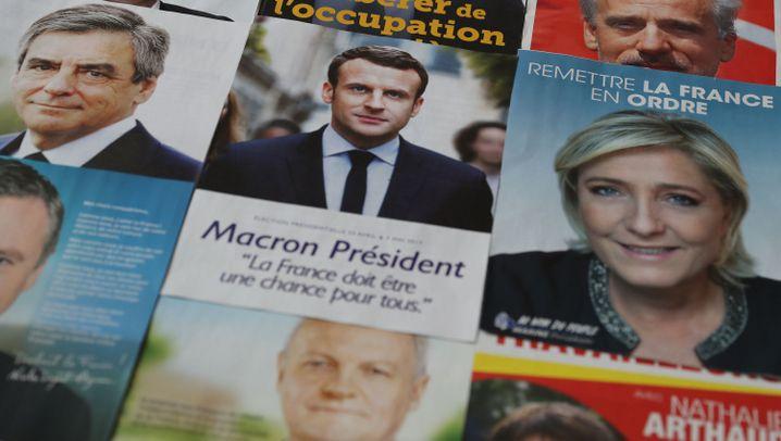 Frankreich-Wahl: Der Kampf um den Élysée