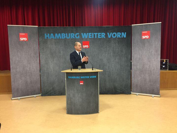 """Scholz: """"Überzeugt, dass die SPD im Januar eine kluge Entscheidung treffen wird"""""""
