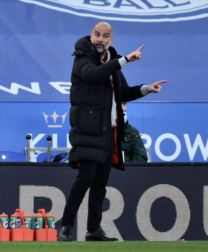 City-Trainer Guardiola: Will endlich die Champions League mit Manchester gewinnen
