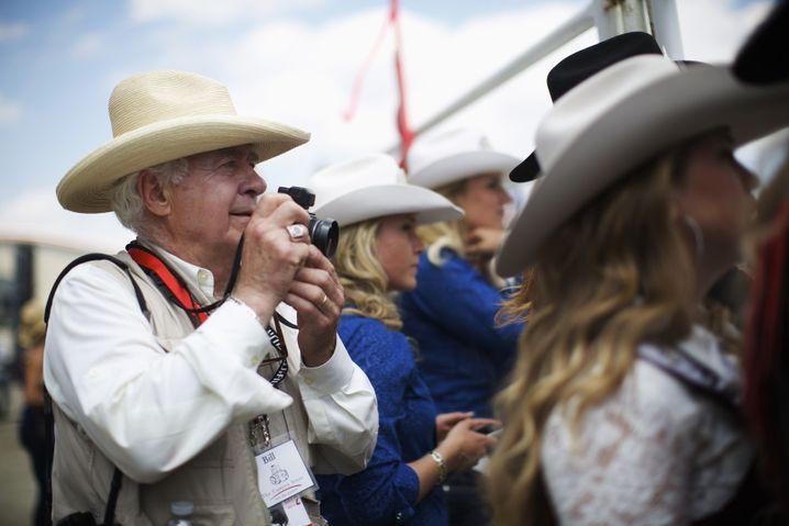 """Allard 2014 bei einem Rodeo in Alberta, Kanada: """"Das war auch für meine Familie nicht immer einfach"""""""