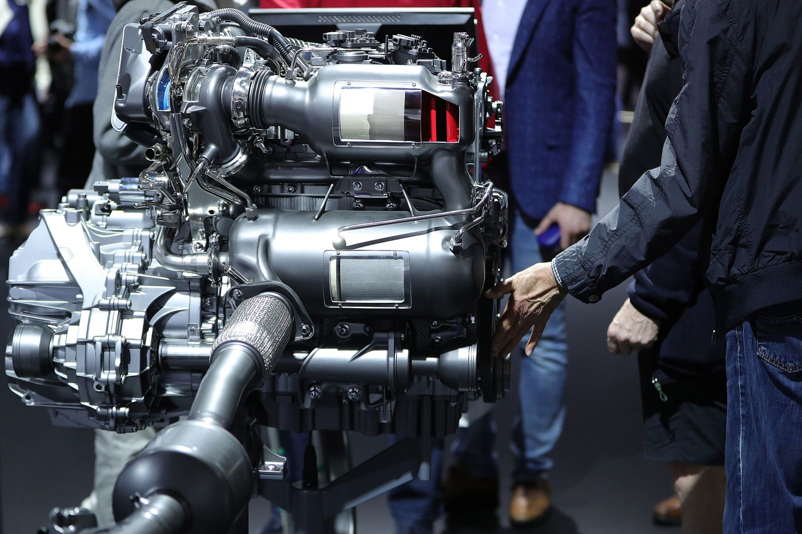 EINMALIGE VERWENDUNG B-Klasse Dieselmotor