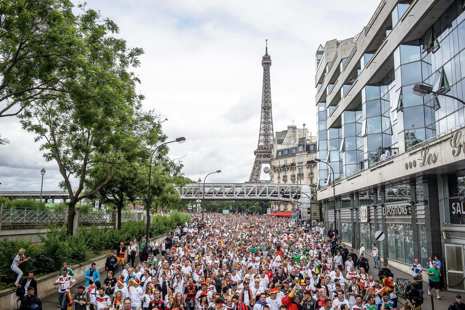 EURO 2016 / Paris / Deutsche Fans