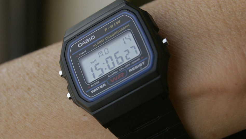 This Casio F91W-1 watch is taken as a sign of a possible terrorist by US intelligence.