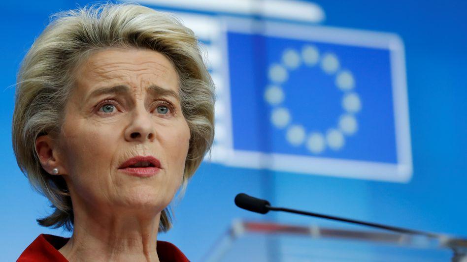 """Kommissionschefin von der Leyen: """"Bündnis wird gebraucht für die digitale Welt"""""""
