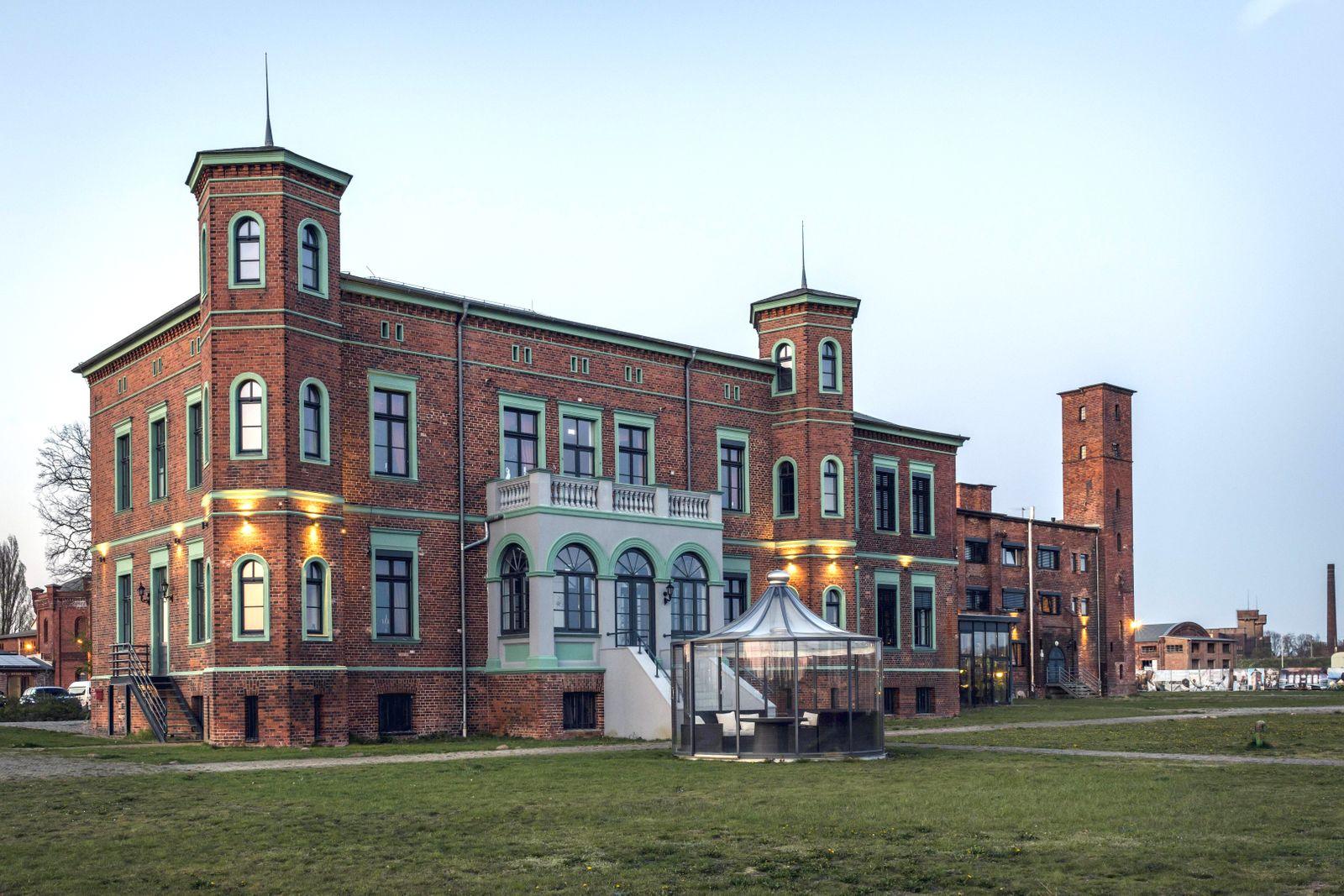 EINMALIGE VERWENDUNG Wittenberge/ Ölmühle