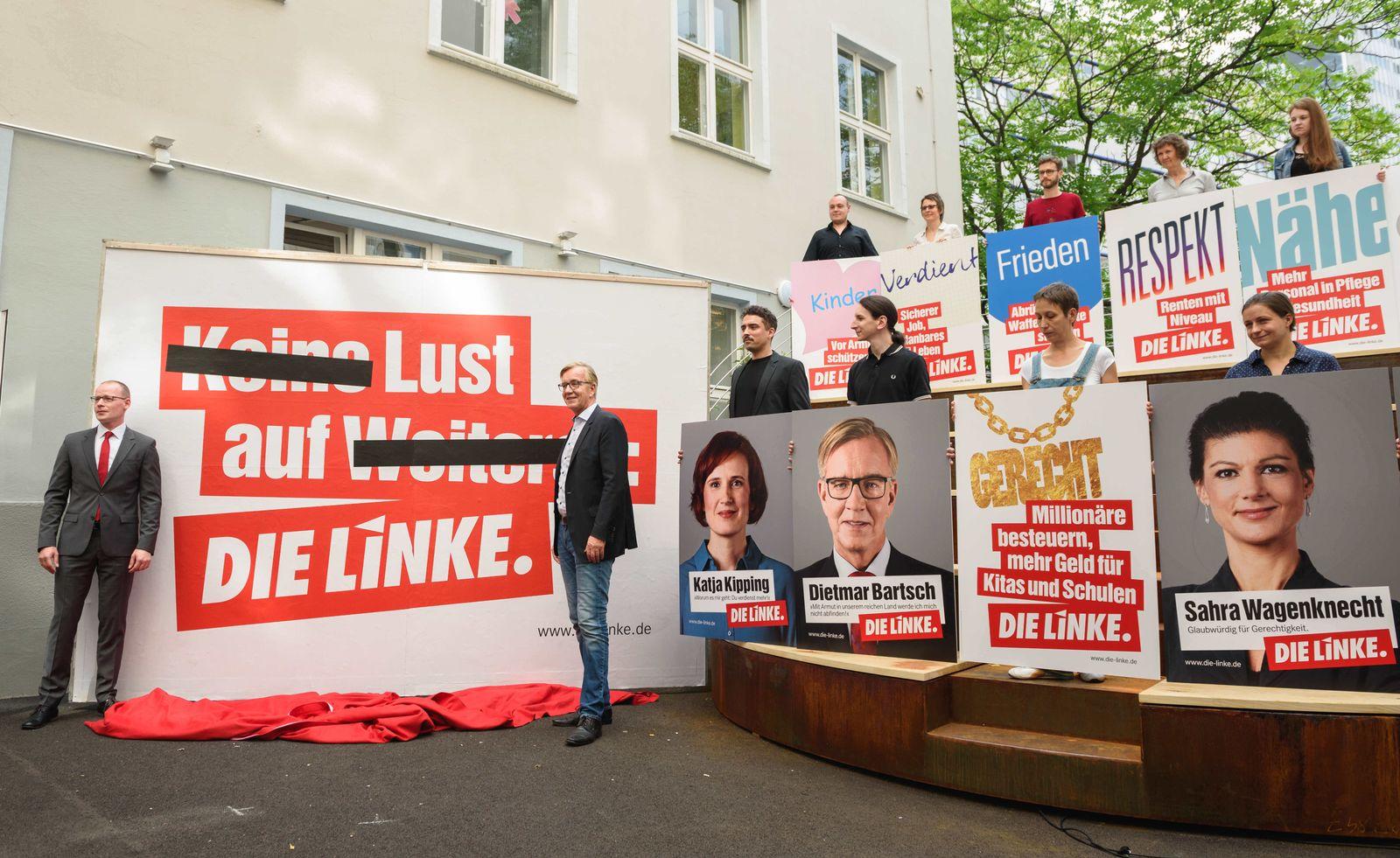 Wahlplakat Die Linke