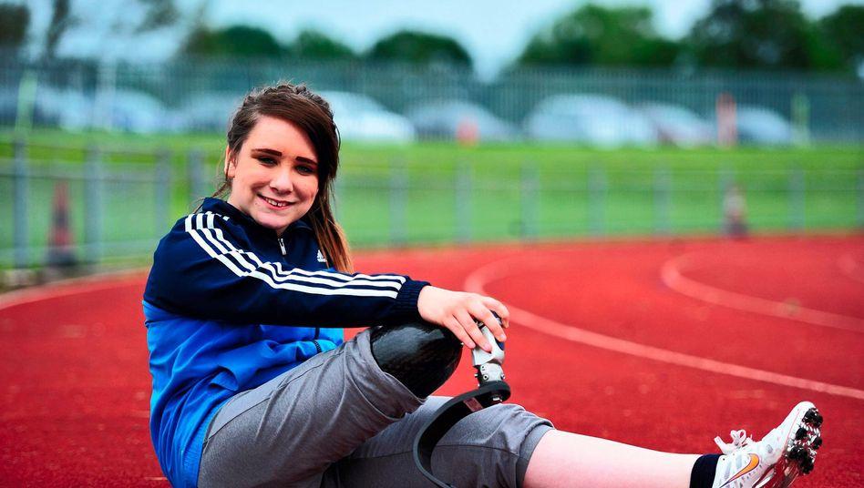 Danielle Bradshaw: Die 15-Jährige träumt von den Paralympics