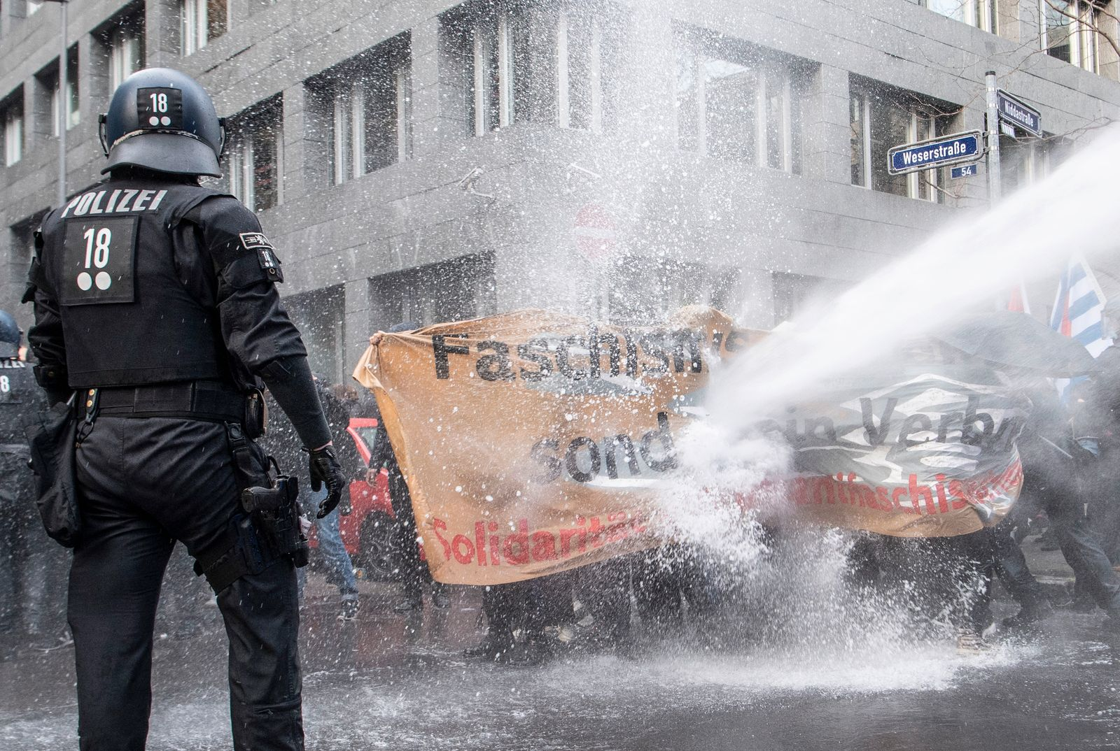 "Demonstration ""Querdenken"" - Frankfurt am Main"