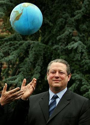 Der ehemalige US-Vizepräsident Al Gore: Pocht auf einen neuen Marshall-Plan für Entwicklung