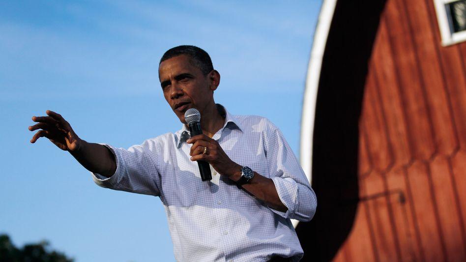 Barack Obama in Iowa: Plan für September angekündigt