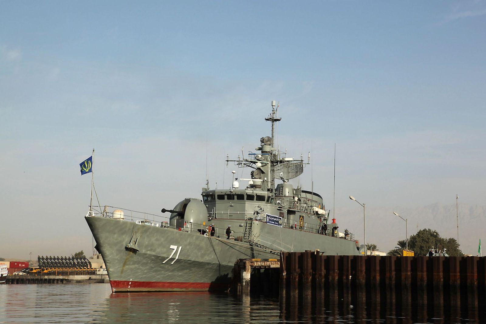 iranisches kriegsschiff