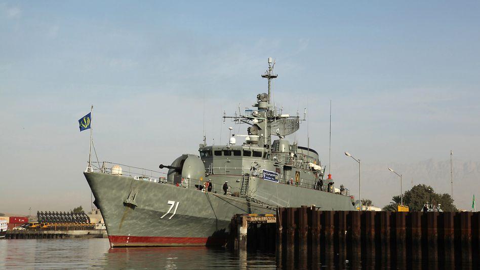 Iranisches Kriegsschiff im Golf (2009): Ägypten genehmigt Passage durch den Suezkanal