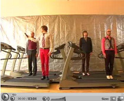 Pfiffig: OK Go werben auf allen Kanälen, die ihnen das Web bietet