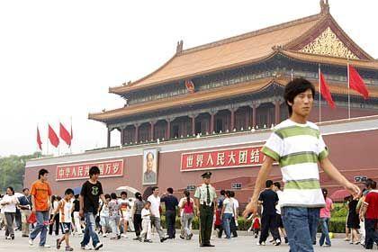 Peking, Platz des Himmlischen Friedens: Drehverbot während der Olympischen Spiele?