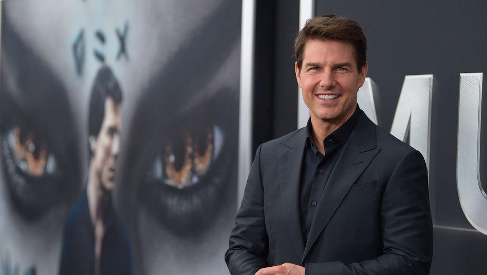 """2017 spielte Tom Cruise die Hauptrolle in """"Die Mumie"""""""