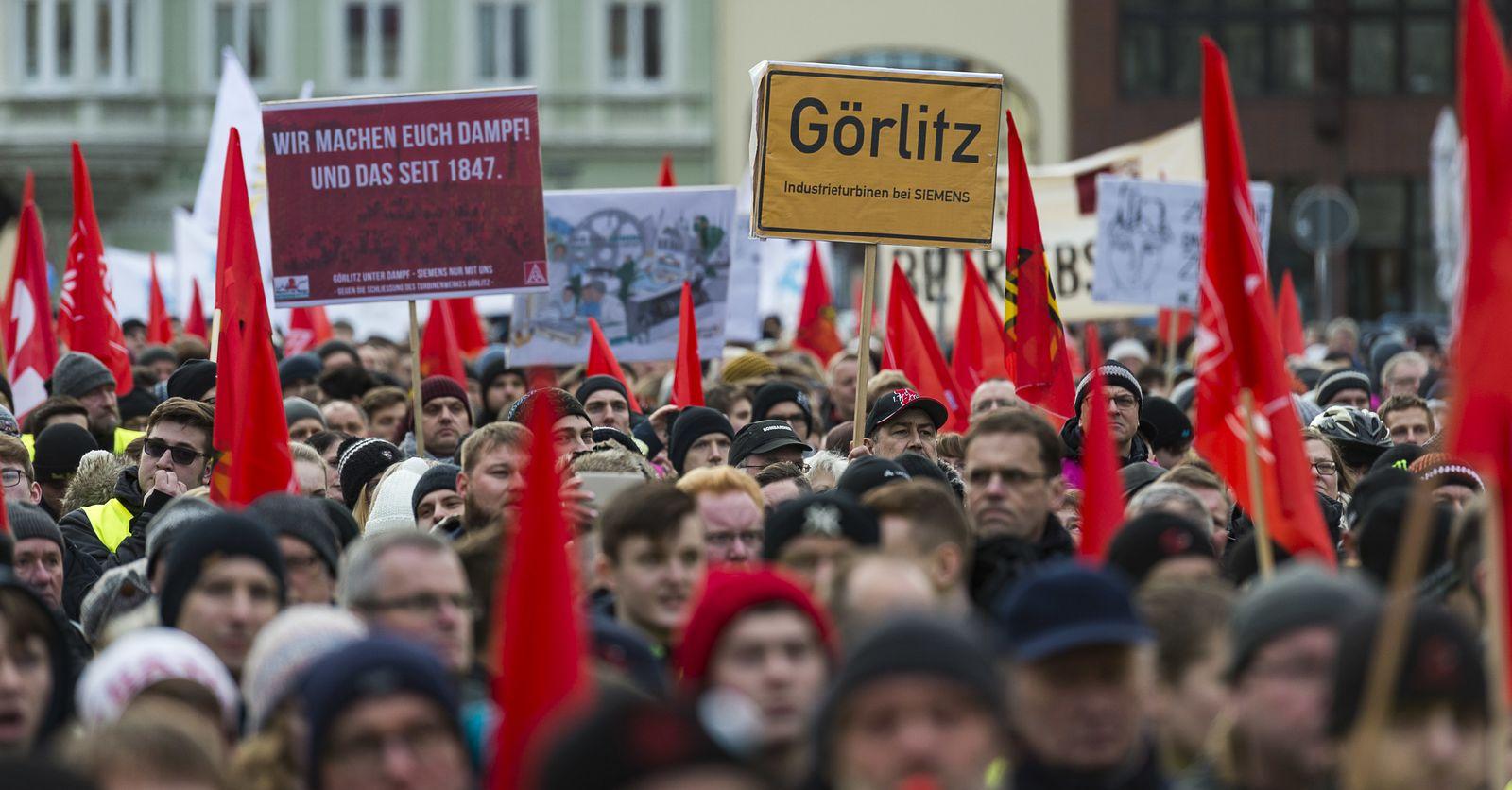 Demo Görlitz Siemens