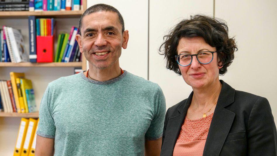 Biontech-Forscherpaar Ugur Sahin und Özlem Türeci