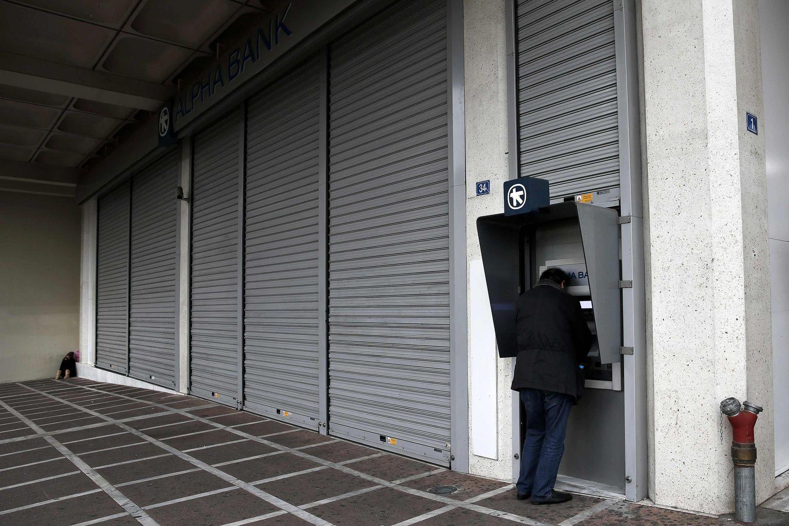 Griechenland / Bank
