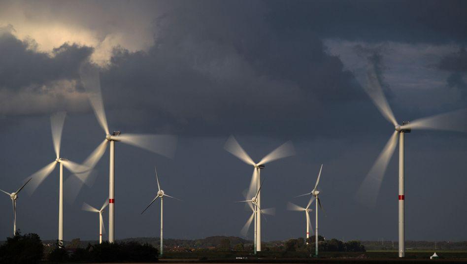 Windkraftanlagen bei Husum (Archivbild): Infraschallquellen