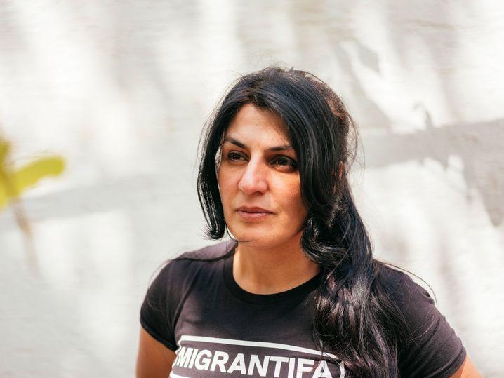 Serpil Temiz, 45: in Hanau zu Hause sein, von einem Rassisten dafür bestraft werden