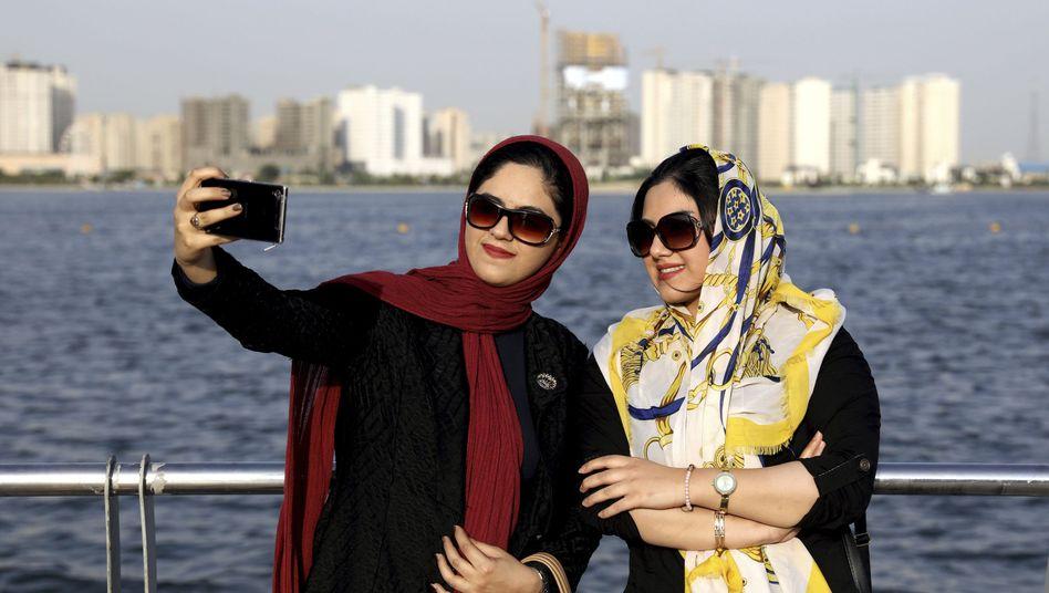 Selbstbewusst: Viele Iranerinnen sind finanziell unabhängig