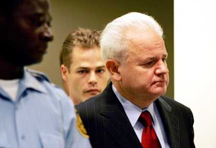Milosevic in Den Haag: Der Angeklagte hat Bluthochdruck