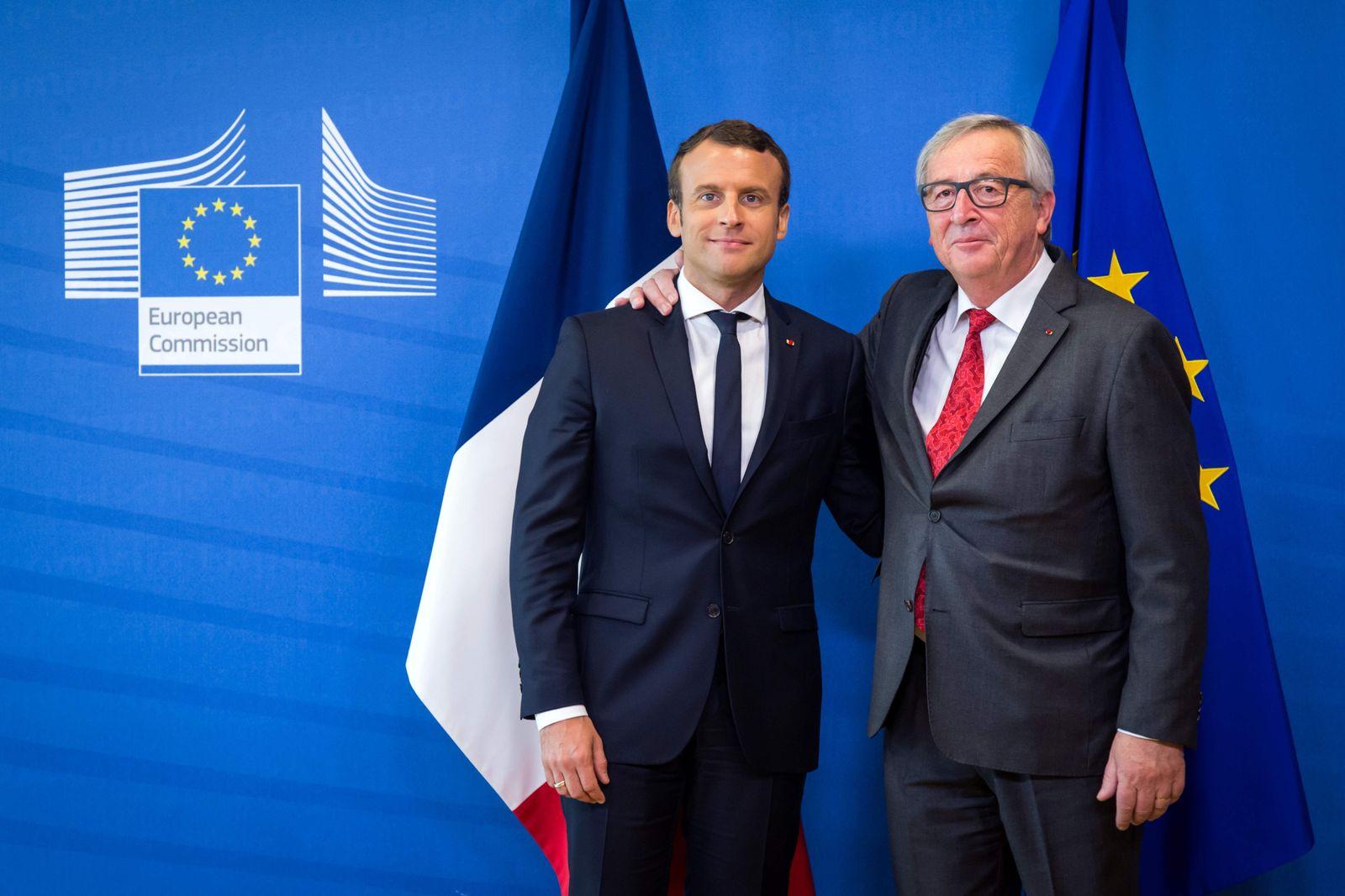 Emmanuel Macron / Jean-Claude Juncker