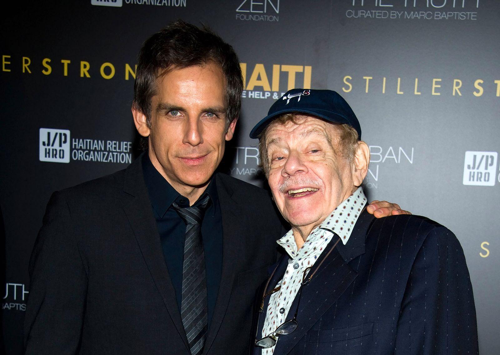 Schauspieler Ben Stiller und Vater Jerry