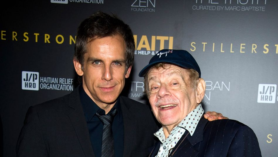 Ben und Jerry Stiller im Jahr 2011