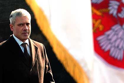 Serbian President Boris Tadic.