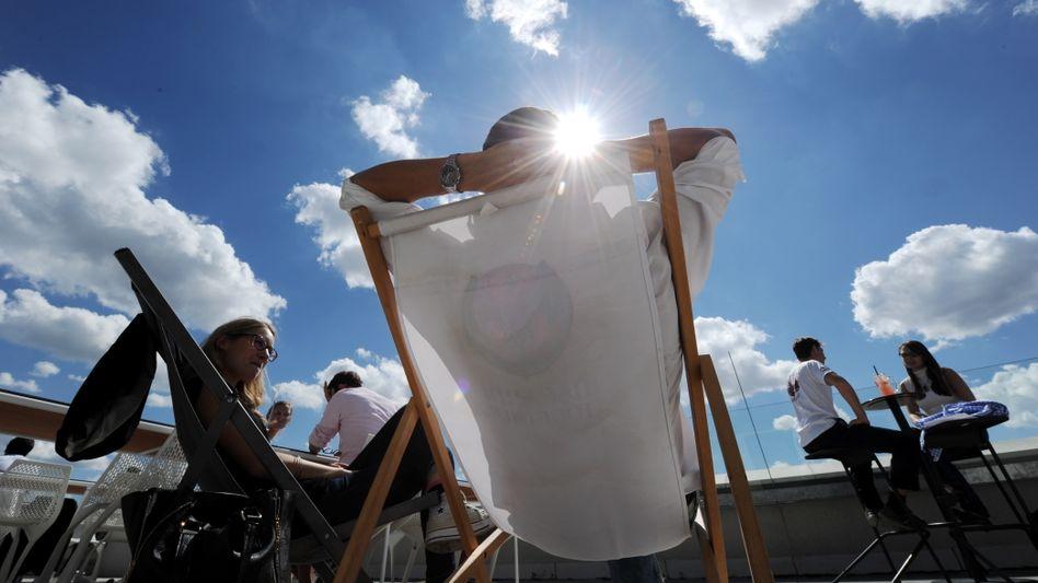 Sonnenbad: Sonne ist wichtig für den Körper