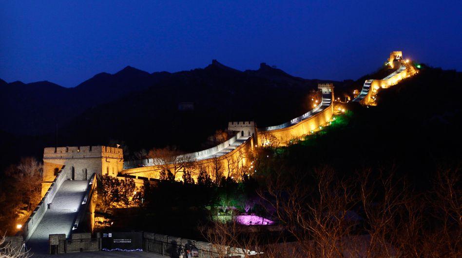 Chinesische Mauer: Saubere Steine dank besonderer Zone