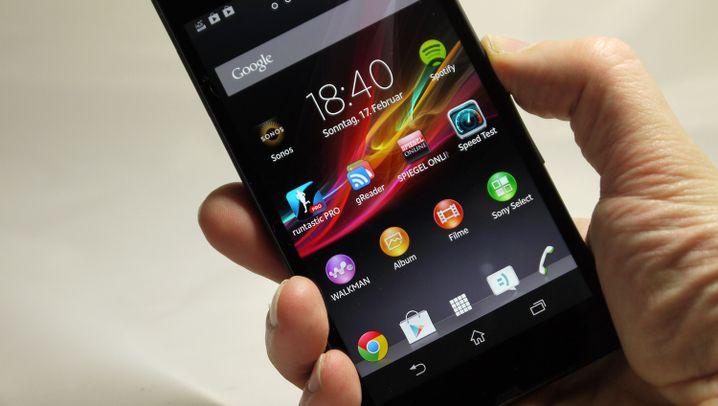 Wasserfestes Smartphone: Das ist das Sony Xperia Z