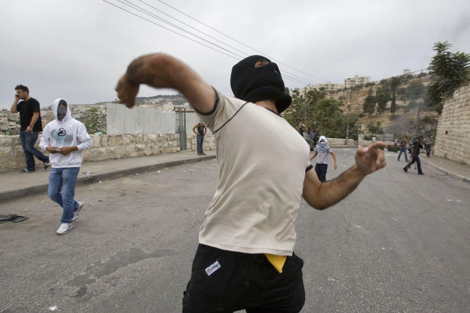 Steinewerfer Jerusalem