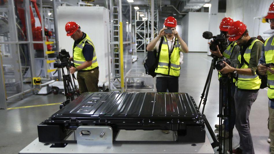 Teslas Batteriefabrik in Nevada