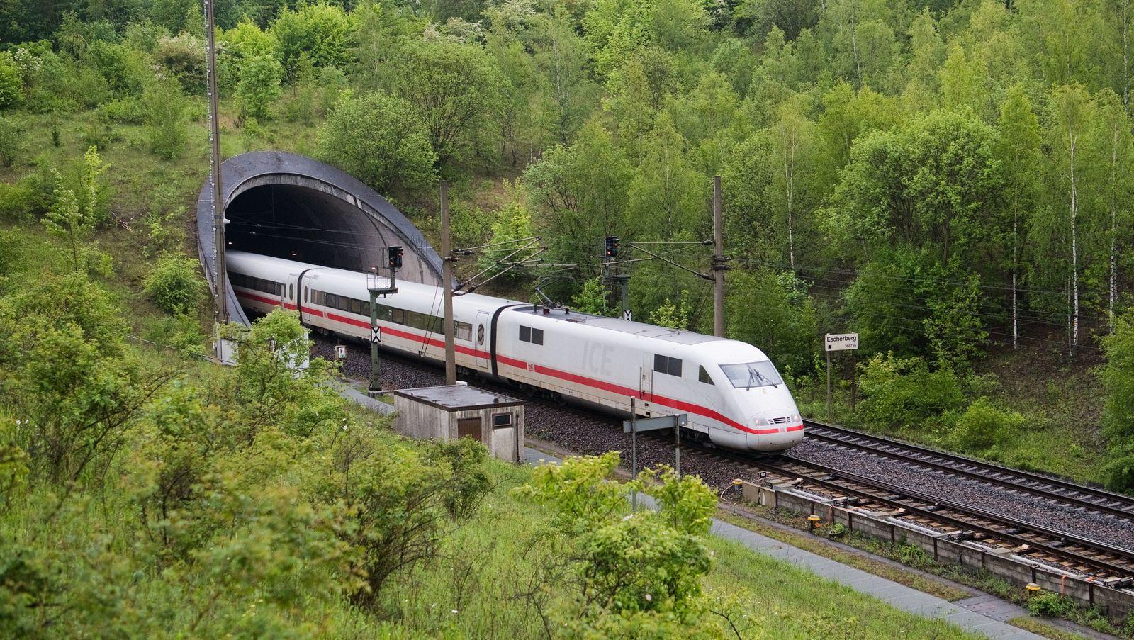 ICE Strecke Hannover - Göttingen