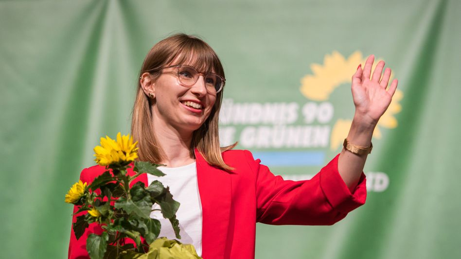Jeanne Dillschneider wurde von den Delegierten auf den ersten Platz der Landesliste gewählt