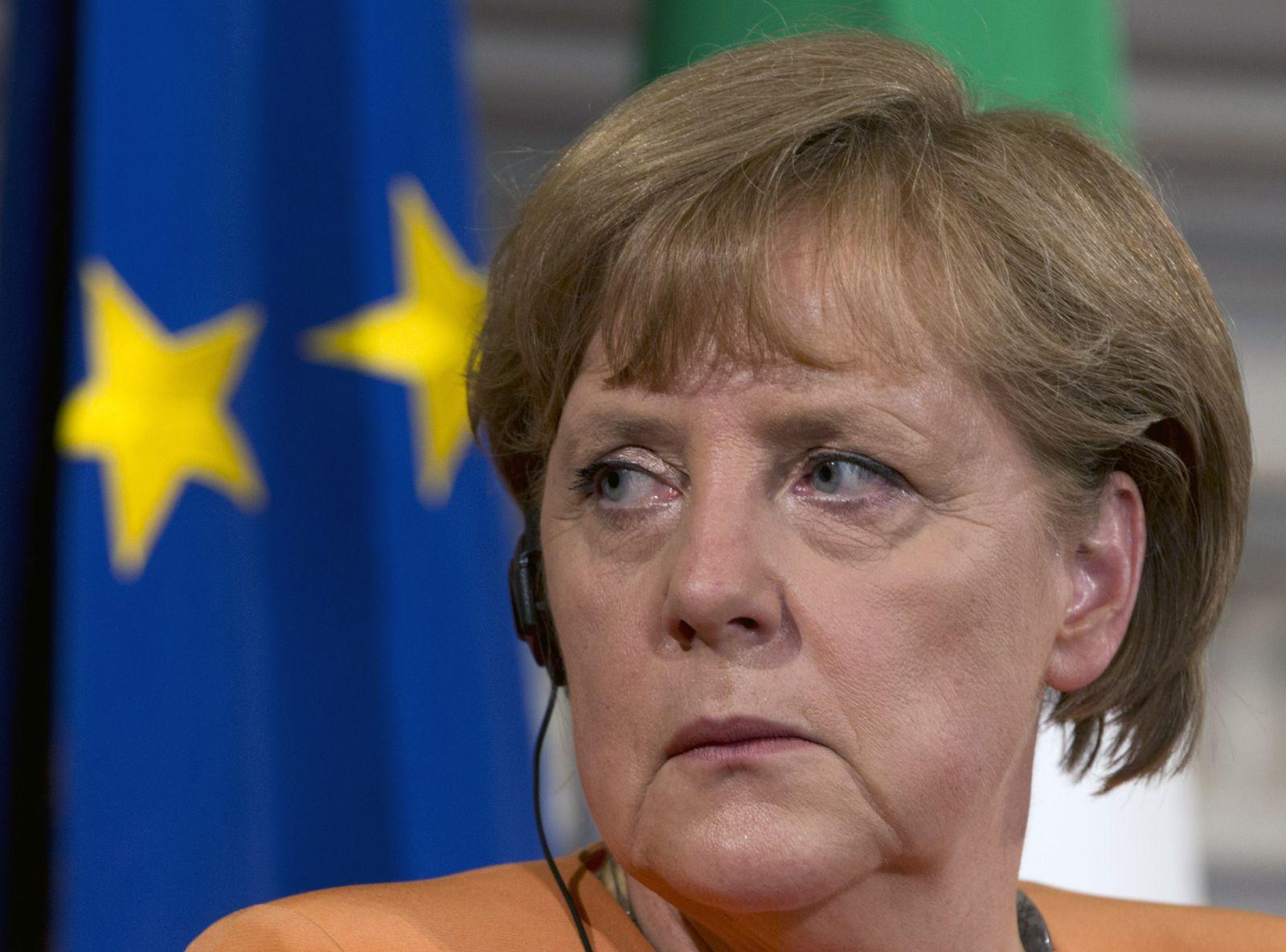 Merkel Italy Germany