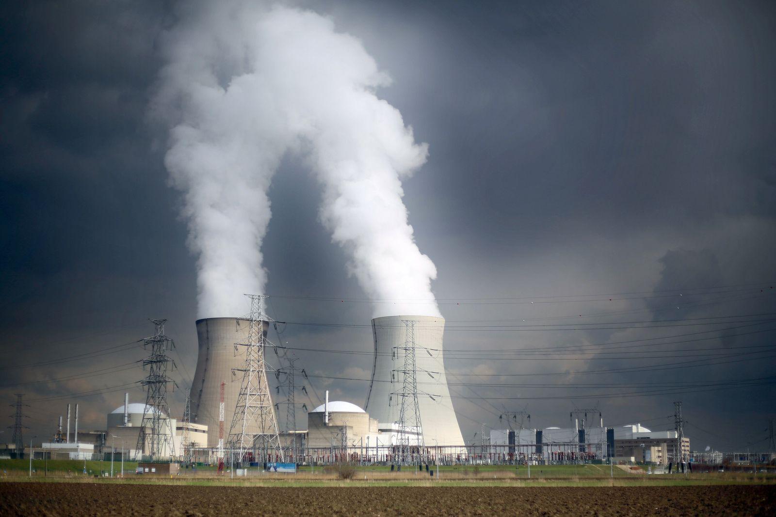 Belgien / Kernkraftwerk Doel
