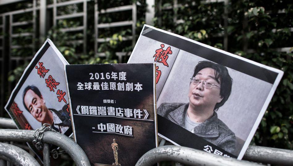China: Verschleppter Buchhändler zu zehn Jahren Haft verurteilt