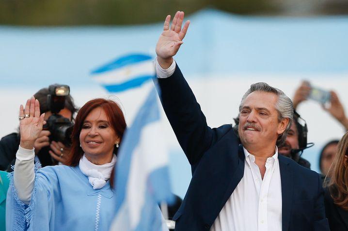 Präsident Fernández: Der Universitätsprofessor ist in der Corona-Krise zum Staatsmann gereift