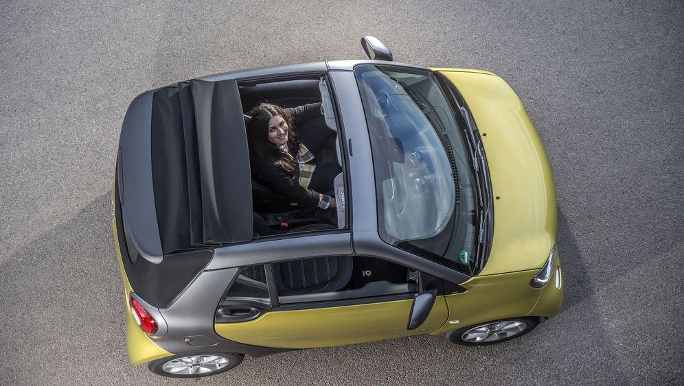Autogramm Smart Cabrio: Kleiner Sonnenschein