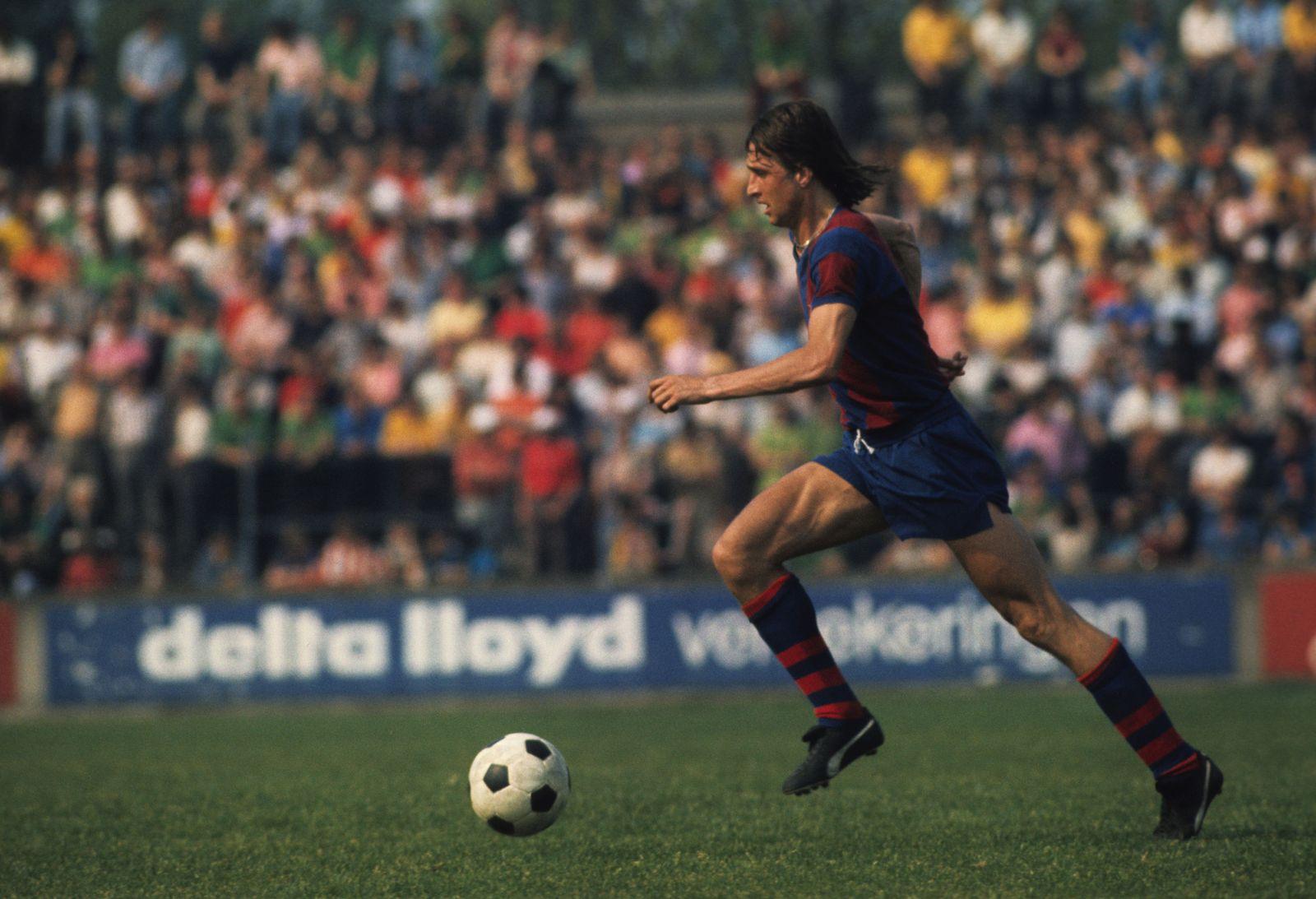 EINMALIGE VERWENDUNG La Masia/ Johan Cruyff