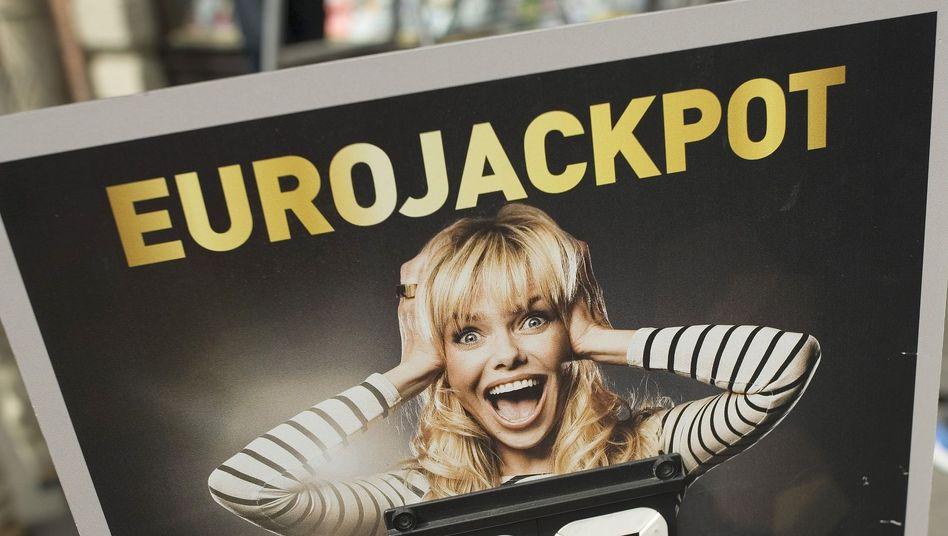 Werbung für Eurojackpot